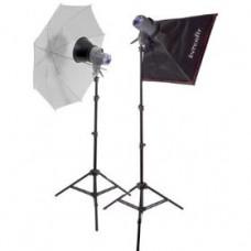 Дом студио-2 150Ватт EX150Mark2 Umbr/Soft kit INTERFIT